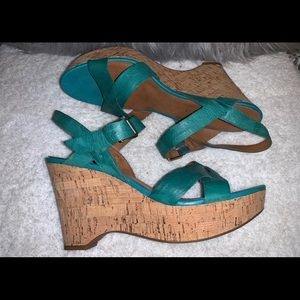 Franco Sarto Summer Wedge Sandals